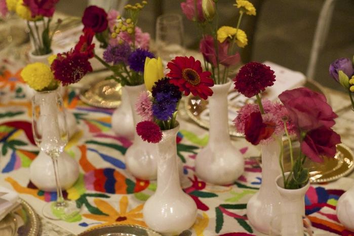 Amei a decoração das mesas. Tudo impecável!