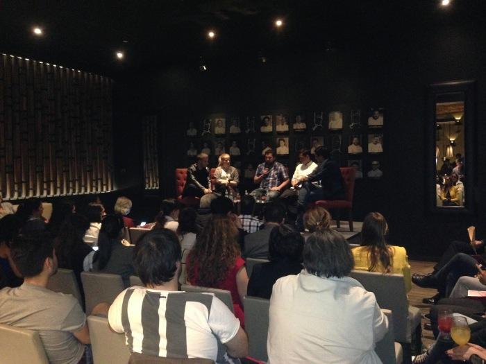 Auditório 50 best talk Latam