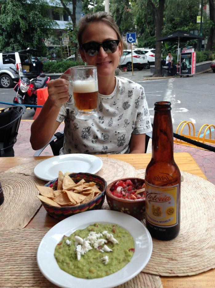 Dando início às aventuras no México da melhor maneira.