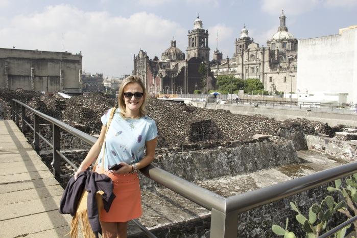Templo Mayor - Viagem ao México.