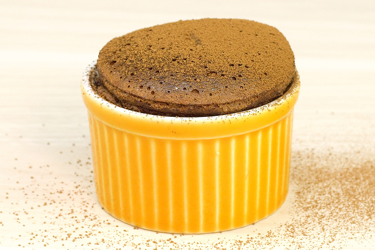 sufle de nutella