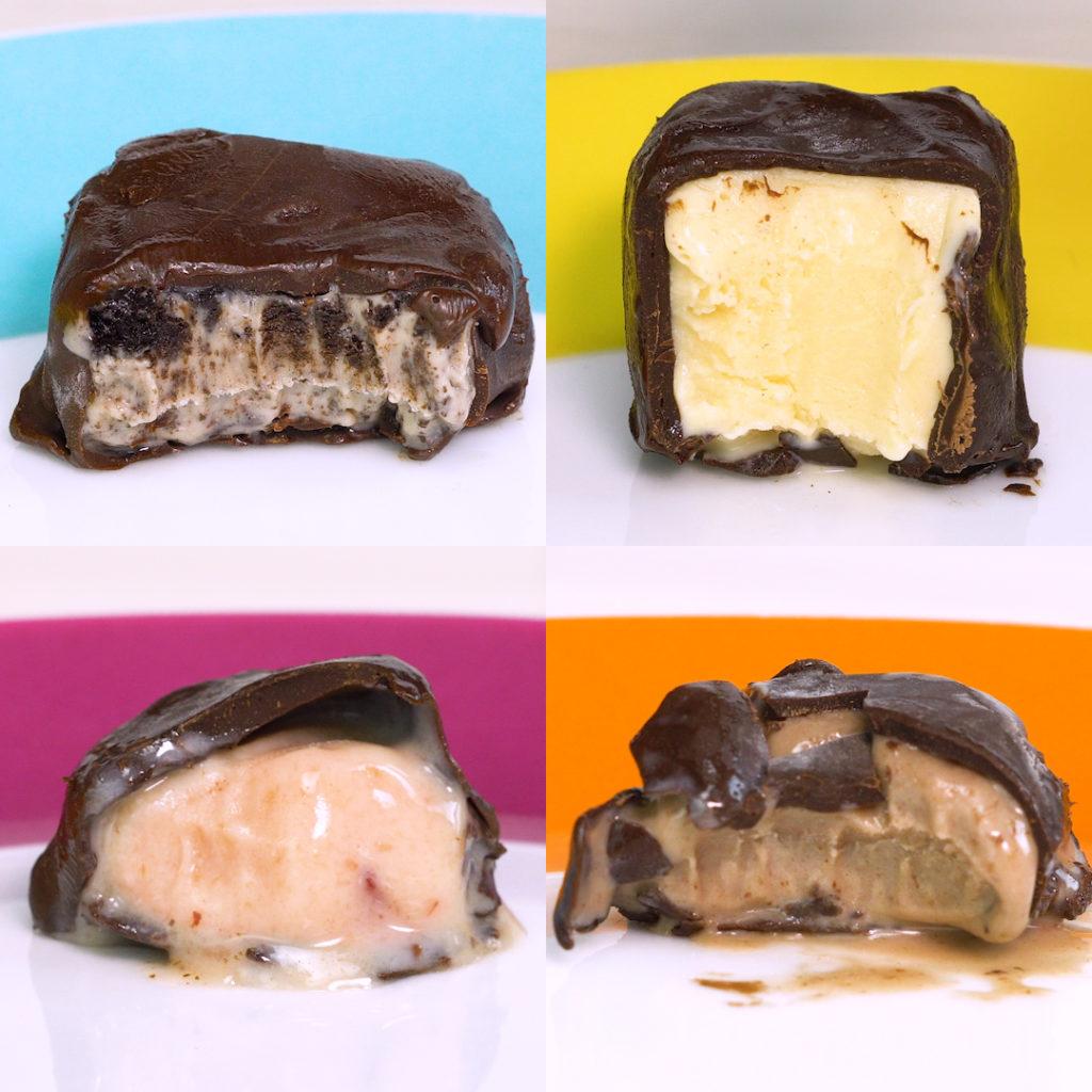 bombom gelado tipo eskibon