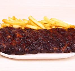 costelinha com barbecue