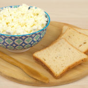 queijo cottage caseiro
